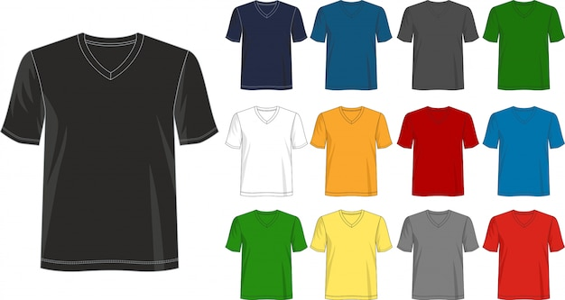 Free for personal and commercial use Vneck T Shirt Images Free Vectors Stock Photos Psd