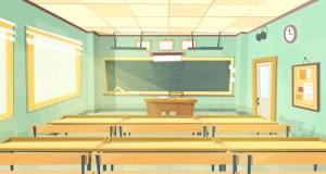 classroom background cartoon empty vector college university illustration inside vectors freepik clip illustrations education interior banner lecture hall psd graphics