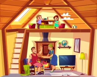 Imagenes Del Interior De Una Casa Animada