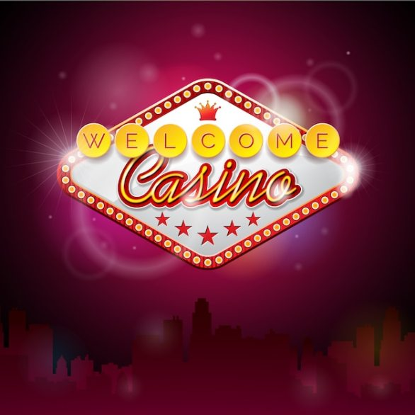 Free Welcome casino background SVG DXF EPS PNG - Cut Vectors, Photos and  PSD files | Free Download