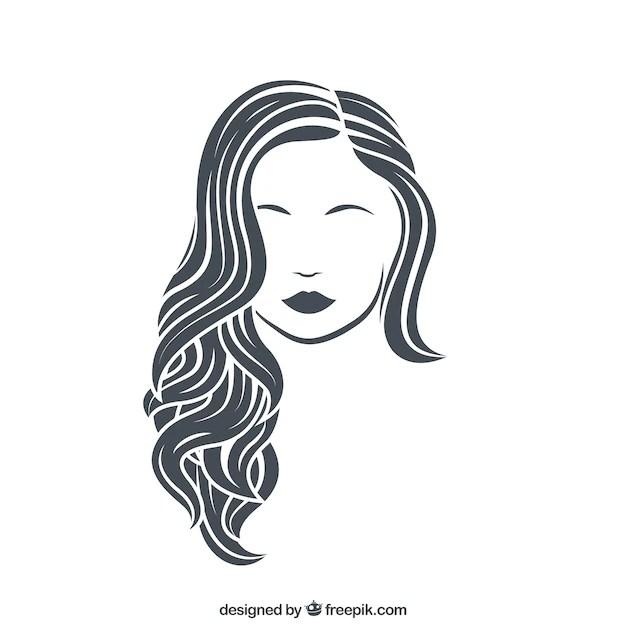 female hair vectors