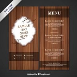 Menu Wood Images Free Vectors Stock Photos & PSD