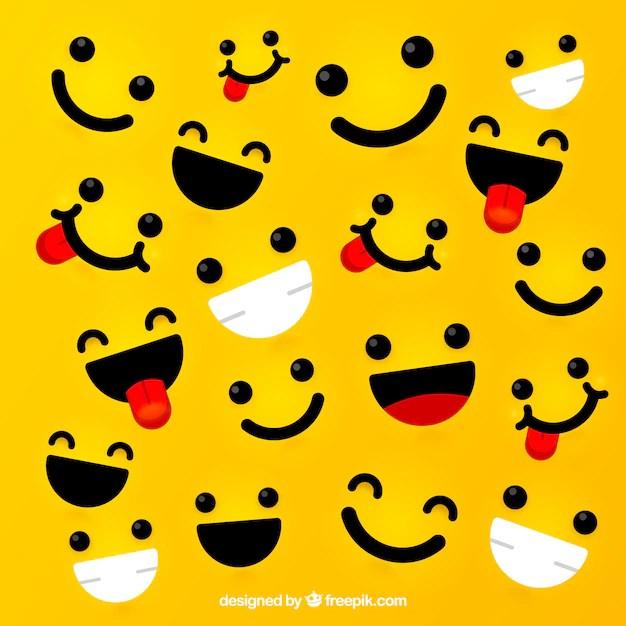 funny face vectors photos