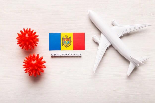 Drapeau De La Moldavie | Photo Premium
