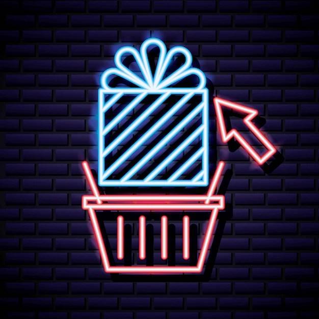 Cyber Lundi Boutique Vecteur Gratuite