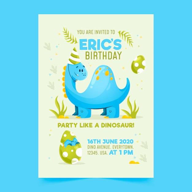 invitation d anniversaire pour enfants