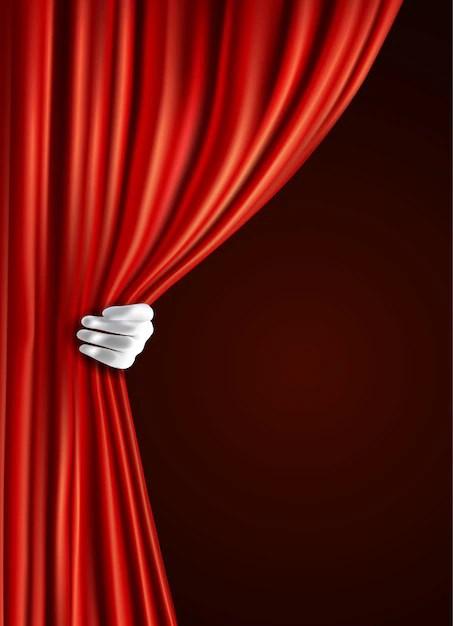 Cortina Teatro  Fotos y Vectores gratis