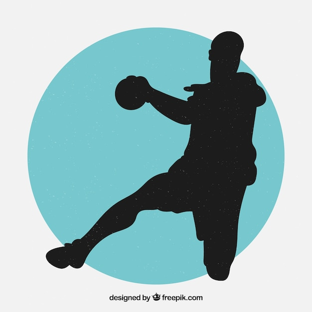 bilder handball gratis vektoren