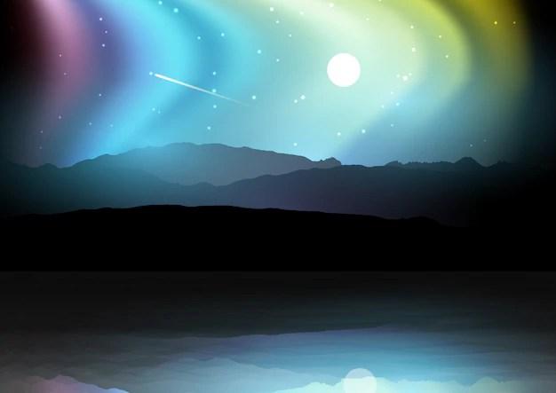 Aurora boreale  Scaricare foto gratis