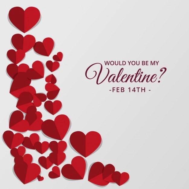 Retro Mooie Harten Ontwerp Voor Valentijnsdag Vector