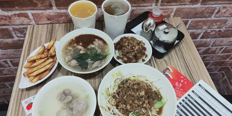 台南美食【高手魷魚羹(永福店)】傳統油蔥層次好味道.鹹香肉臊飯味濃好好吃