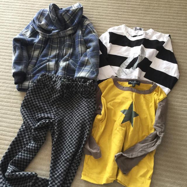 agnes b. - アニエス ベー 6歳 ロンT パンツ ジャケットセット値下げ!の通販 by alba0001's shop|アニエスベーなら ...