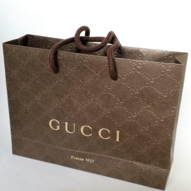 Gucci - ★GUCCI グッチ★紙袋/ショッパー★の通販 by 同梱できれば送料分割引 グッチならラクマ