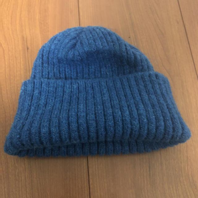 PEACEMINUSONE - G-DRAGON ジヨン著用 ニット帽 青の通販 by Yuz'shop|ピースマイナスワンならラクマ