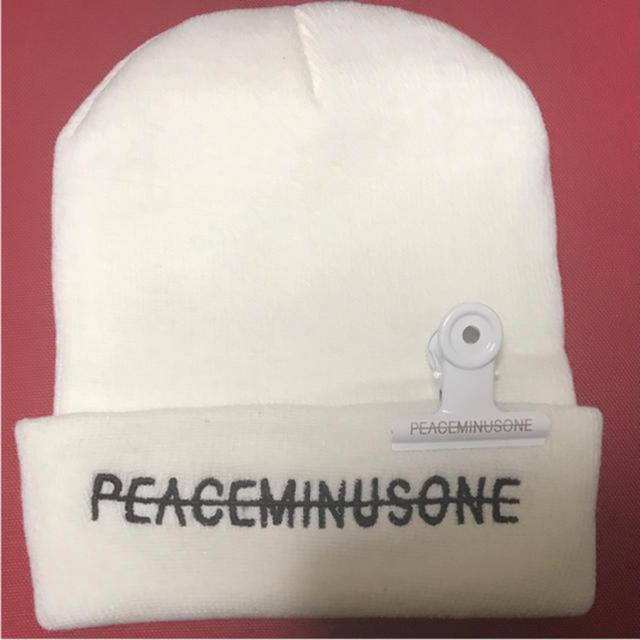 PEACEMINUSONE - peaceminusone ニット帽の通販 by Omi|ピースマイナスワンならラクマ