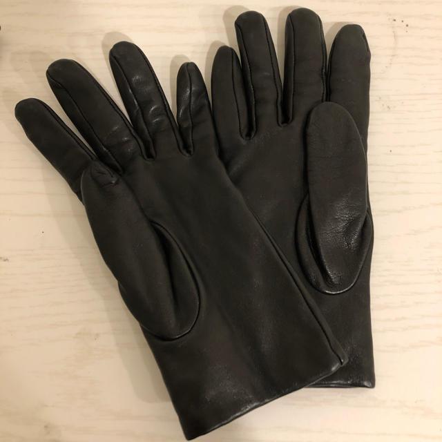 COACH - コーチ 手袋 本革 羊革 ブラック ロゴプレート の通販 by まとめ買大幅値下げ@mint's shop|コーチならラクマ