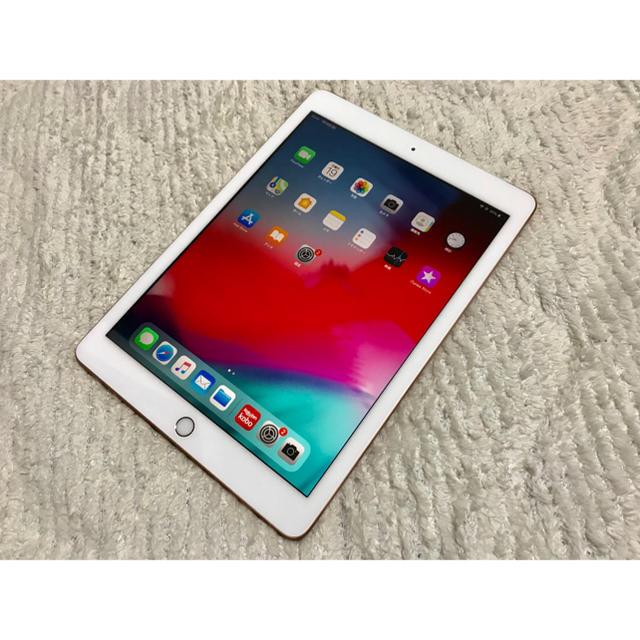 iPad - iPad 第6世代 Wi-Fi + Cellular ゴールド SIMフリーの通販 by のんびり's shop|アイパッドならラクマ