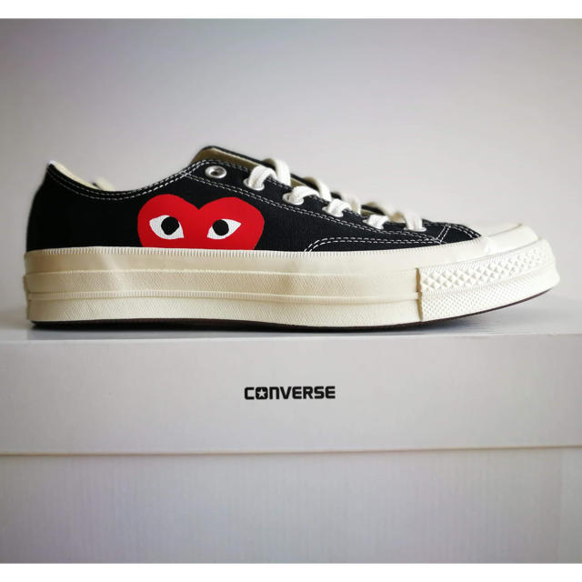 COMME des GARCONS - CDG Play x Converse Chuck Taylor '70の通販 by Mrs.Felor|コムデギャルソンならラクマ