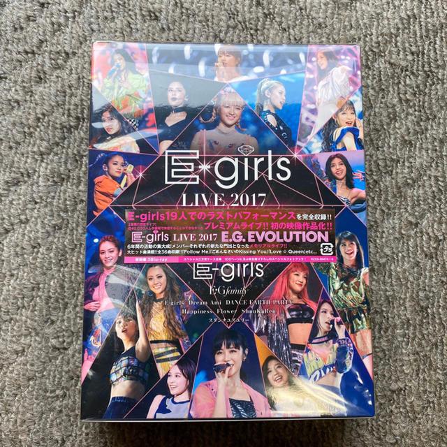 E-girls - E-girls LIVE 2017 ~E.G.EVOLUTION~ Blu-raの通販 by こてつ's shop イーガールズならラクマ