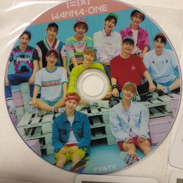 wanna one DVD トレカ5枚 セットの通販 by kkk's shop|ラクマ