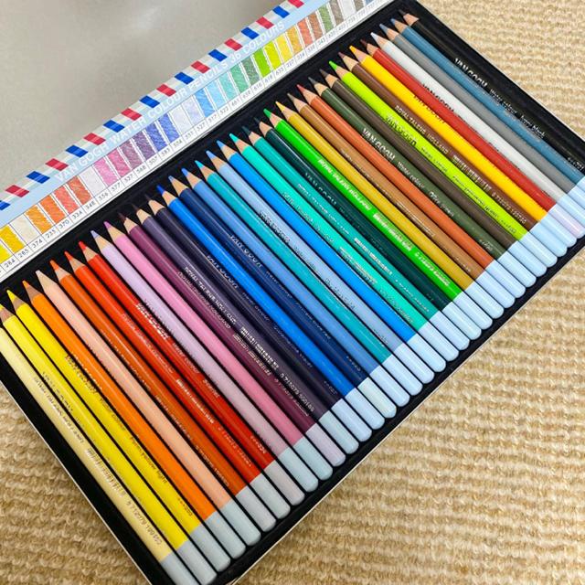 ヴァンゴッホ 水彩色鉛筆 36色の通販 by nico's Shop ラクマ