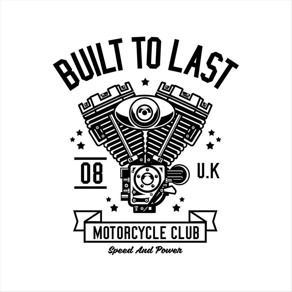 Built To Last Truck Motorcycle Club Women's Sweatshirt