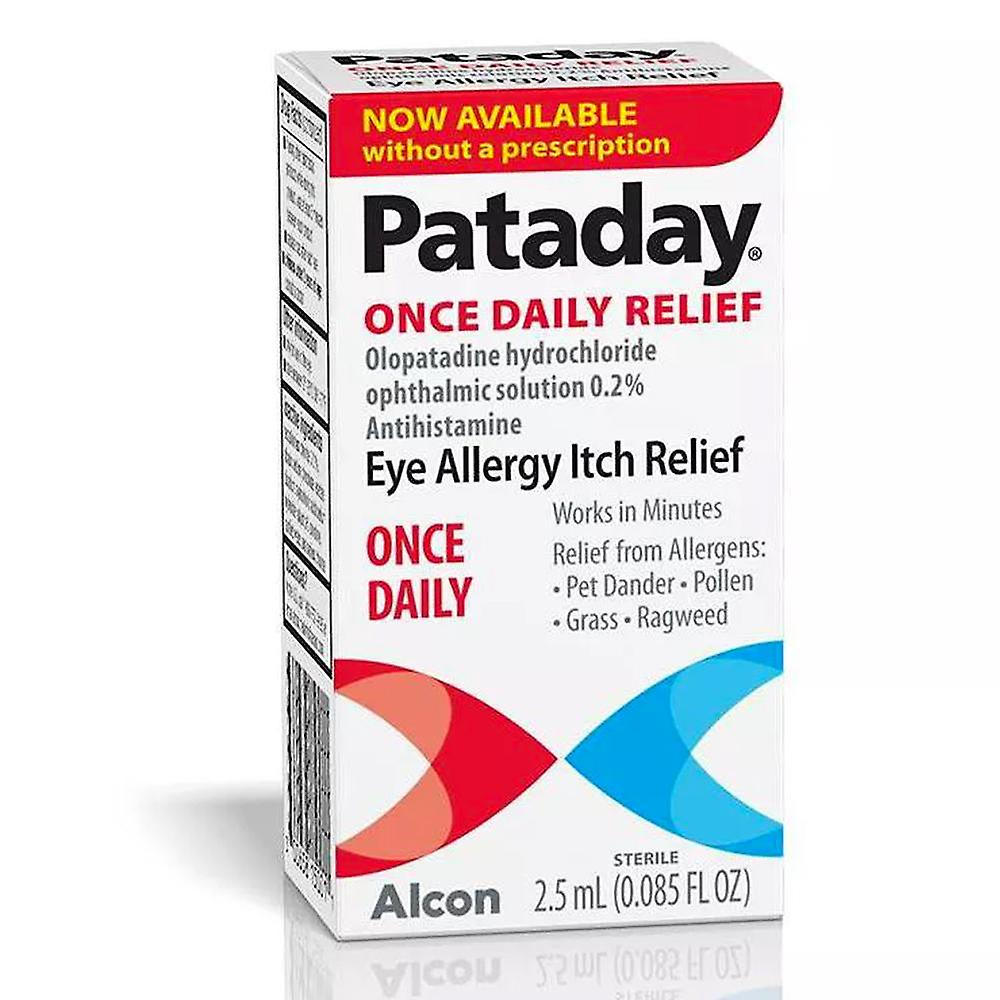 Pataday once daily eye allergy itch relief eye drops 2.5 ...