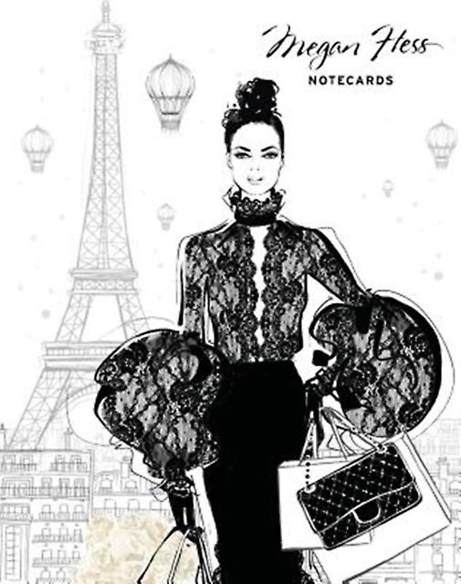 Chic A Fashion Odyssey Megan Hess Boxed Notecard Set