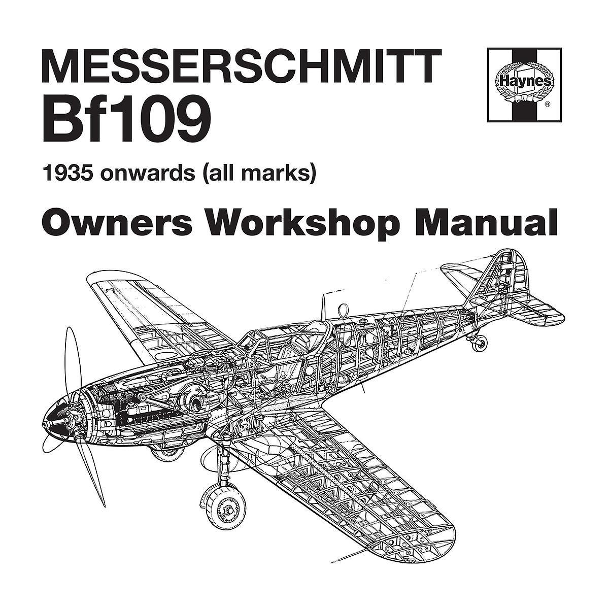 Haynes Owners Workshop Manual Messerschmitt Bf109 Men's