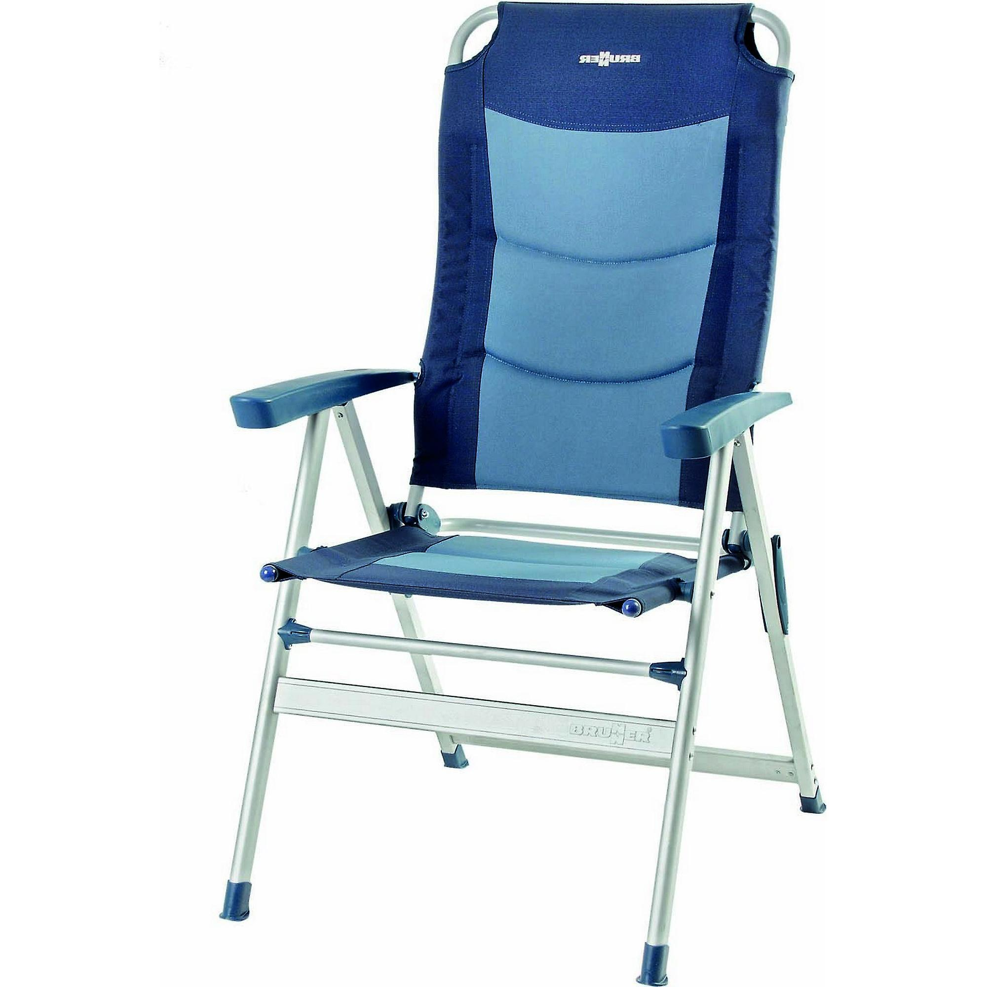 Sturdy Camping Chair Brunner Kerry Slim 600 Aluminium Recliner Camping Chair