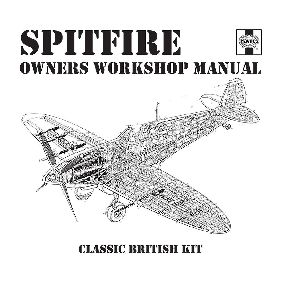 Haynes Owners Workshop Manual Spitfire Men's Baseball Long
