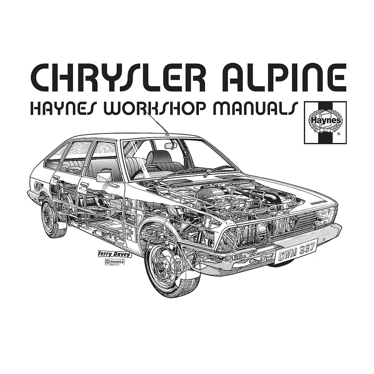 Haynes Workshop Manual 0337 Chrysler Alpine Black Women's