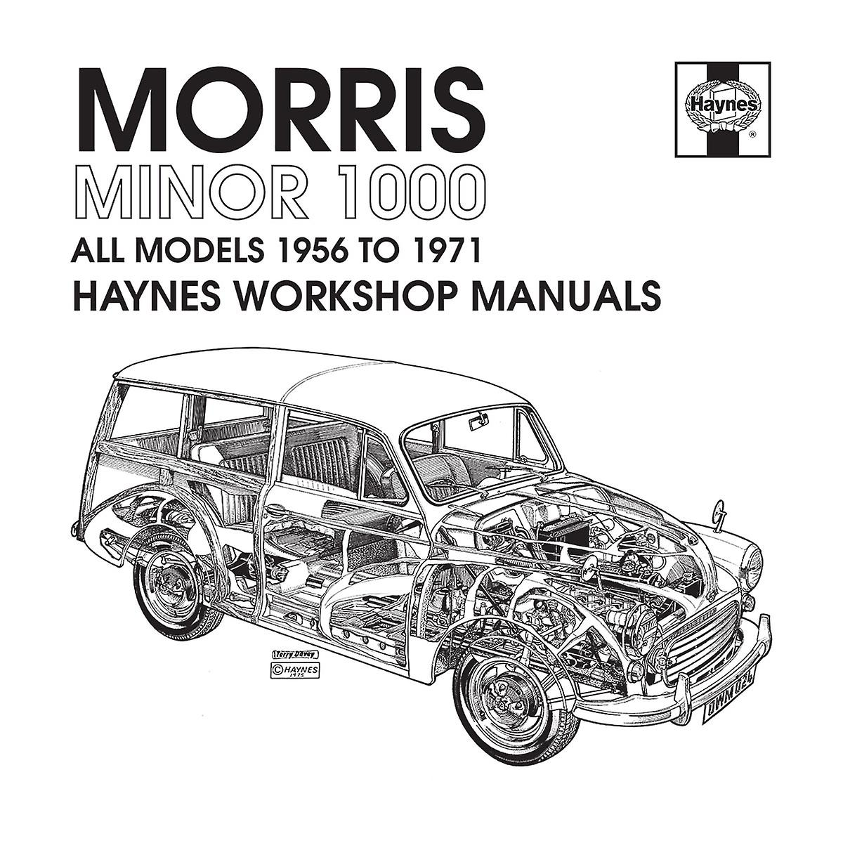Haynes Workshop Manual 0024 Morris Minor 1000 Black Men's