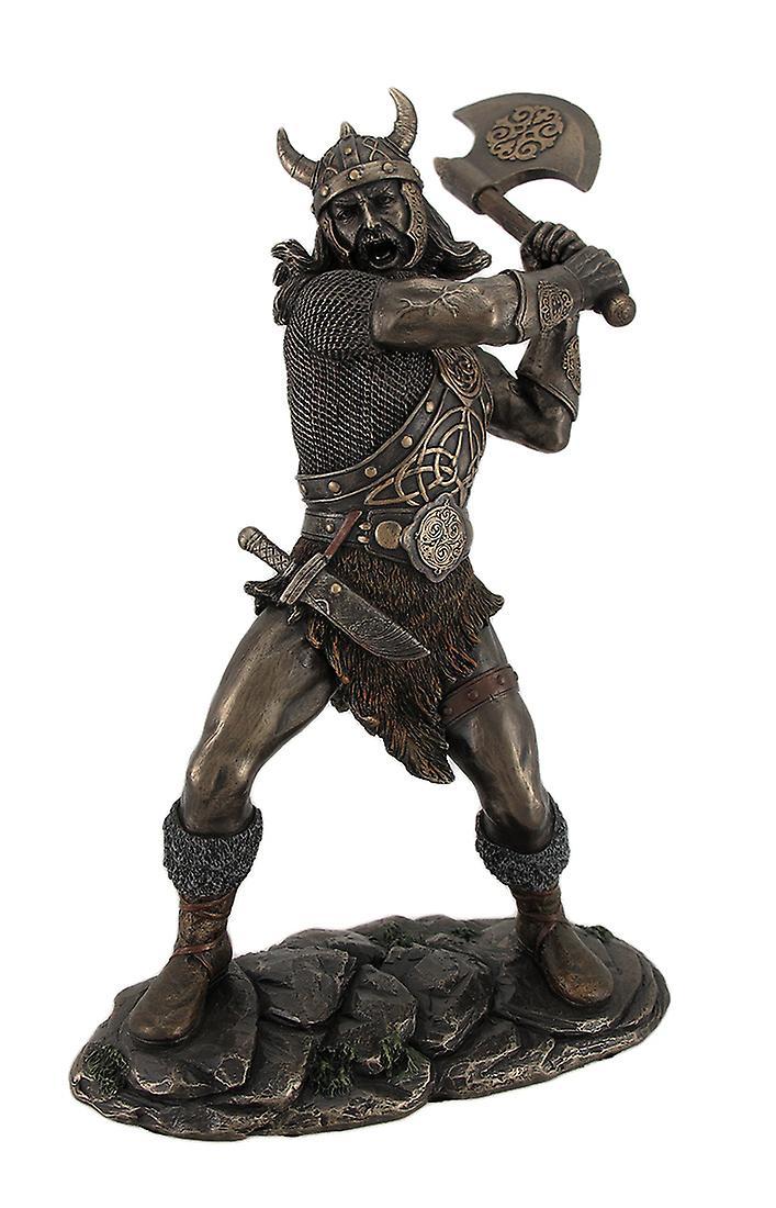 viking outdoor kitchen ceramic tile backsplash 维京勇士秋千和斧头青铜完成雕像 fruugo