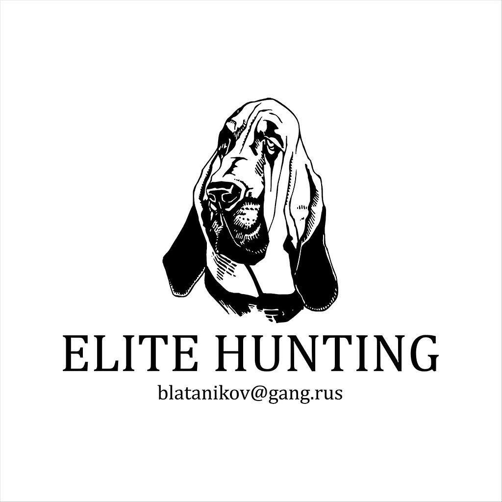 Hostel Elite Hunting Club Business Card Women's Sweatshirt