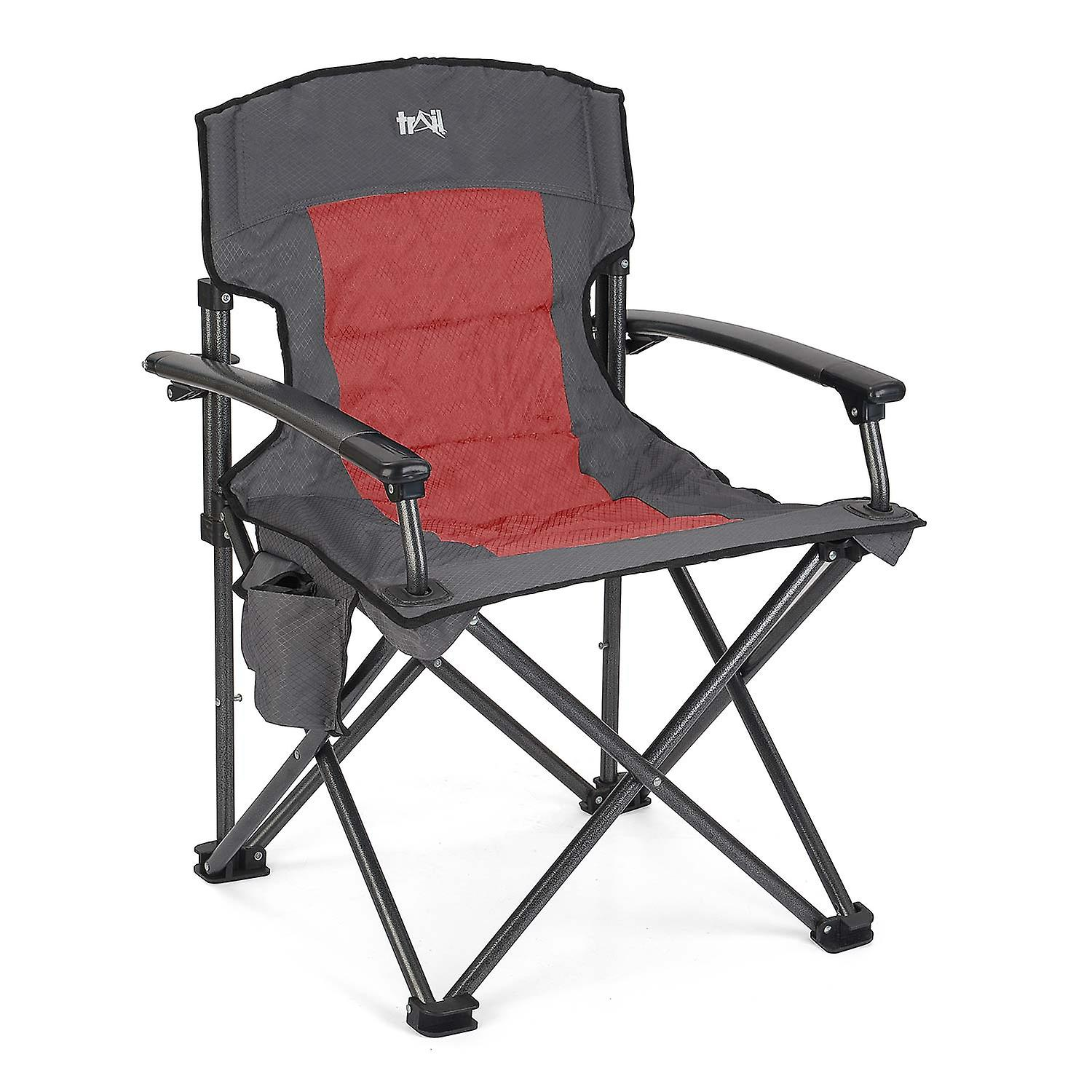 Double Camping Chair Folding Camping Chair Lightweight Portable Luxury Double Padded Festival Fishing