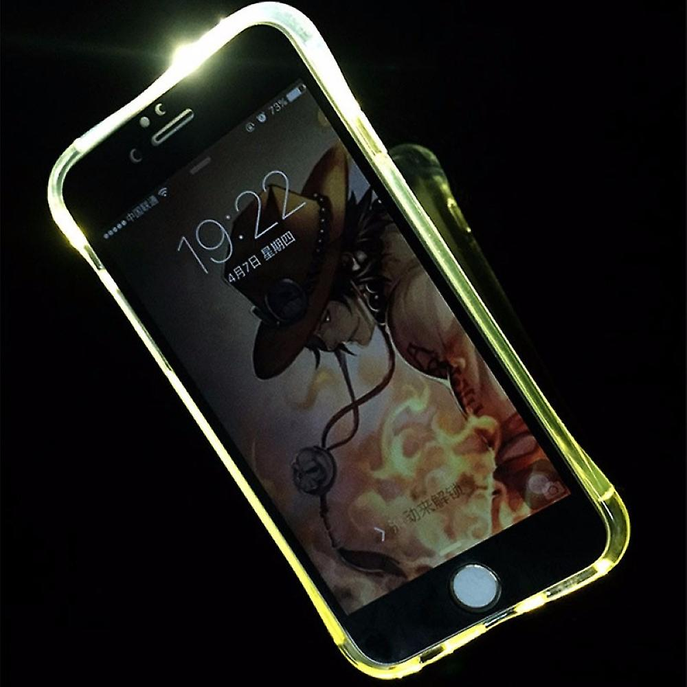 Mobile Case Led Licht Call For Phone Apple Iphone 7 Transparent Fruugo Uk