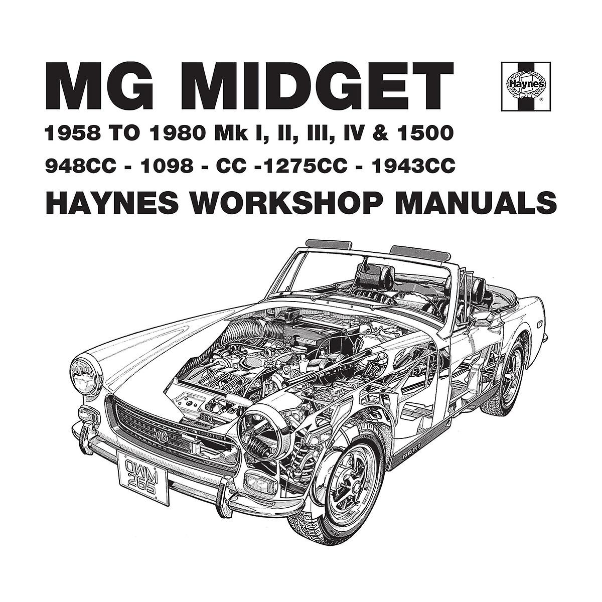 Haynes Owners Workshop Manual 0265 MG Midget 948 to 1275cc