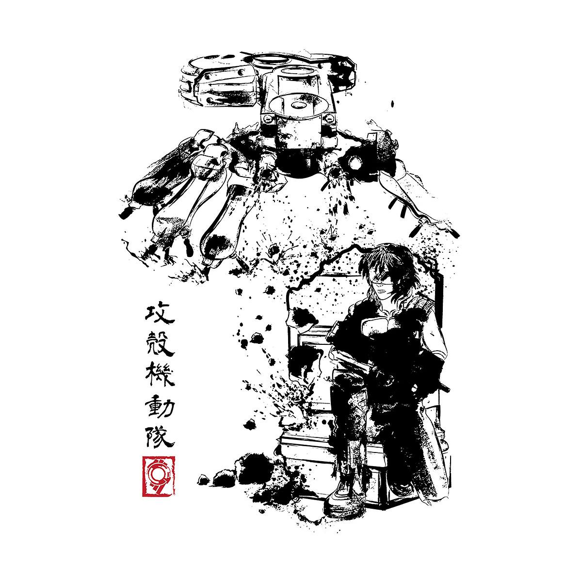 Ghost In The Shell Major Vs Tank Sumie Kid's Sweatshirt