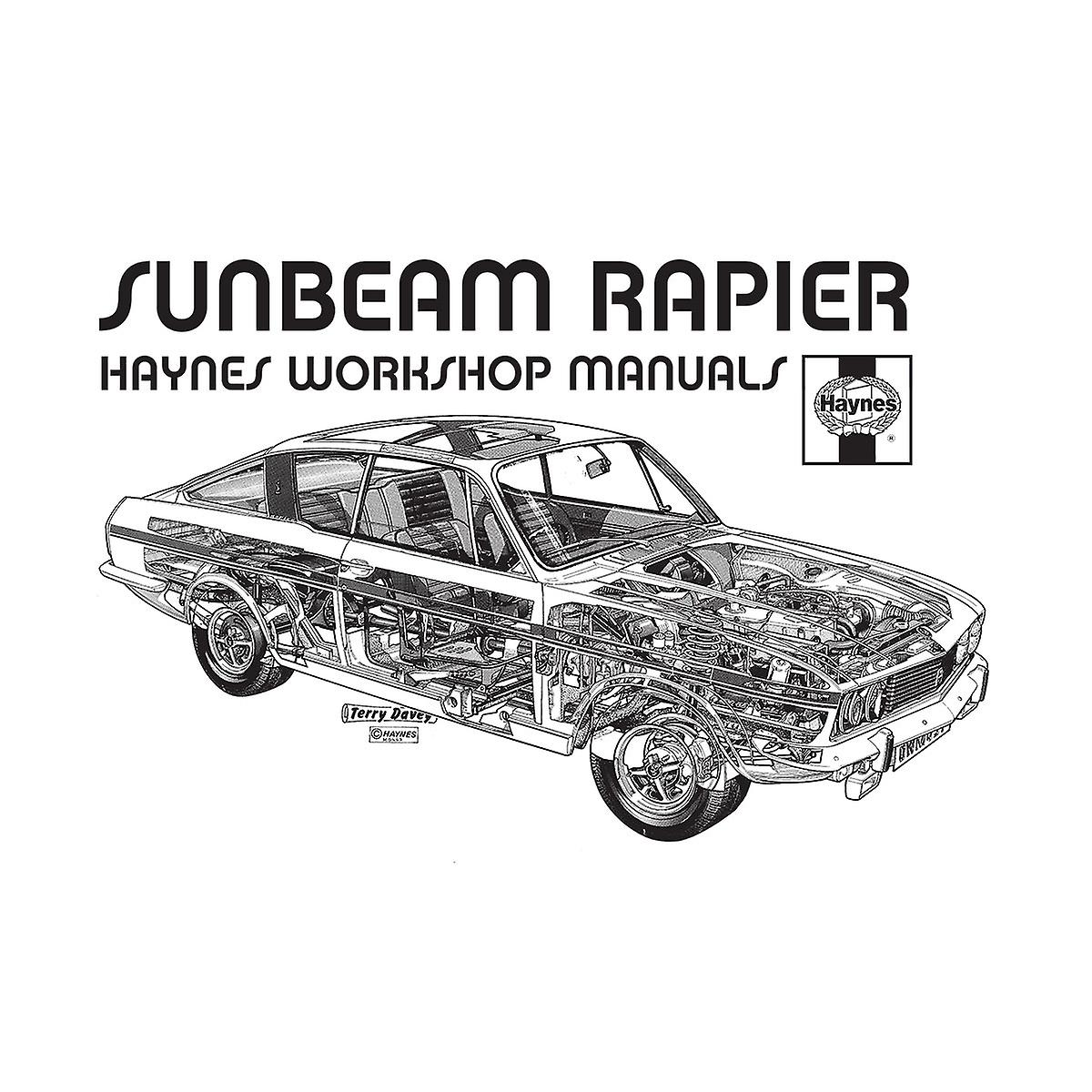 Haynes Owners Workshop Manual 0012 Sunbeam Rapier Black