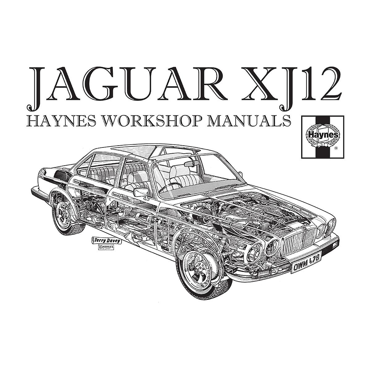Haynes Owners Workshop Manual 0242 Jaguar XJ12 Black Men's