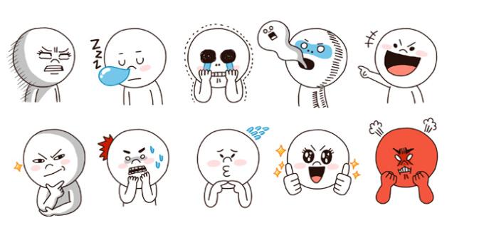 Resultado de imagen para line stickers