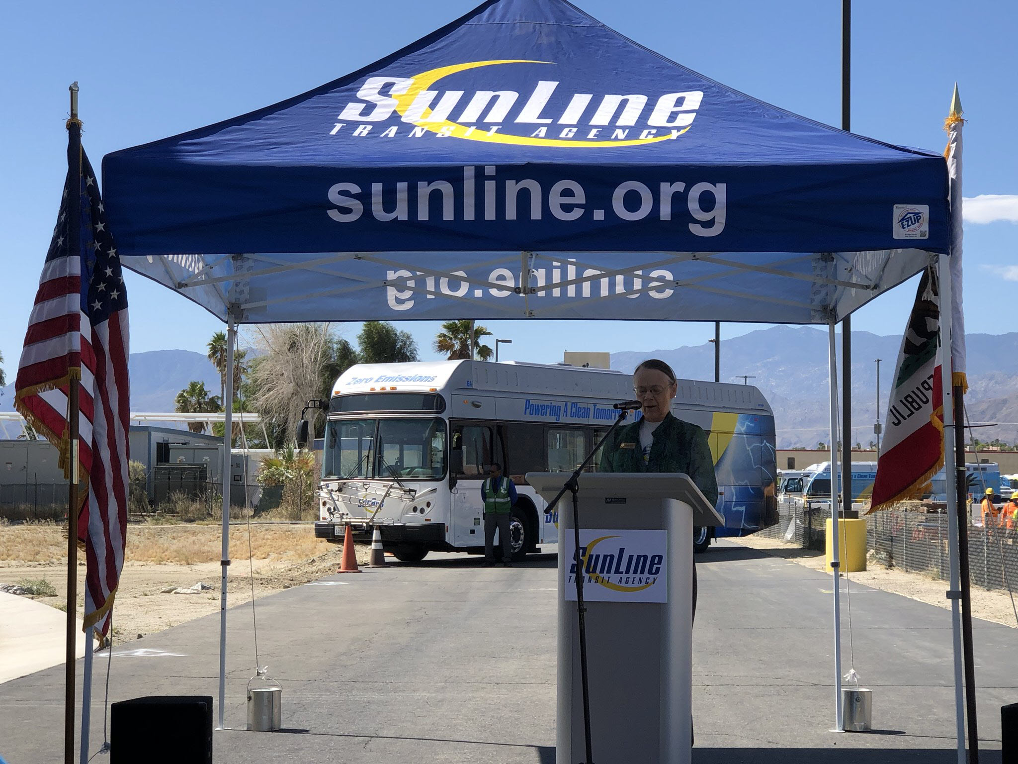 Sunline Transit Celebrates Earth Day With Unveiling Of 5 New Fuel Cell Buses  Fuelcellsworks