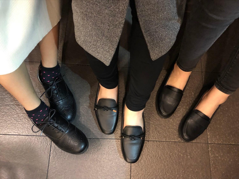 小資女孩上班穿搭必備!富發牌工作黑鞋TOP3實穿推薦