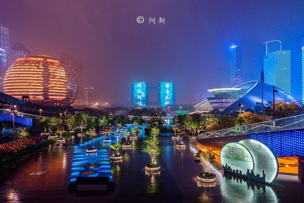 杭州錢江新城燈光秀-08