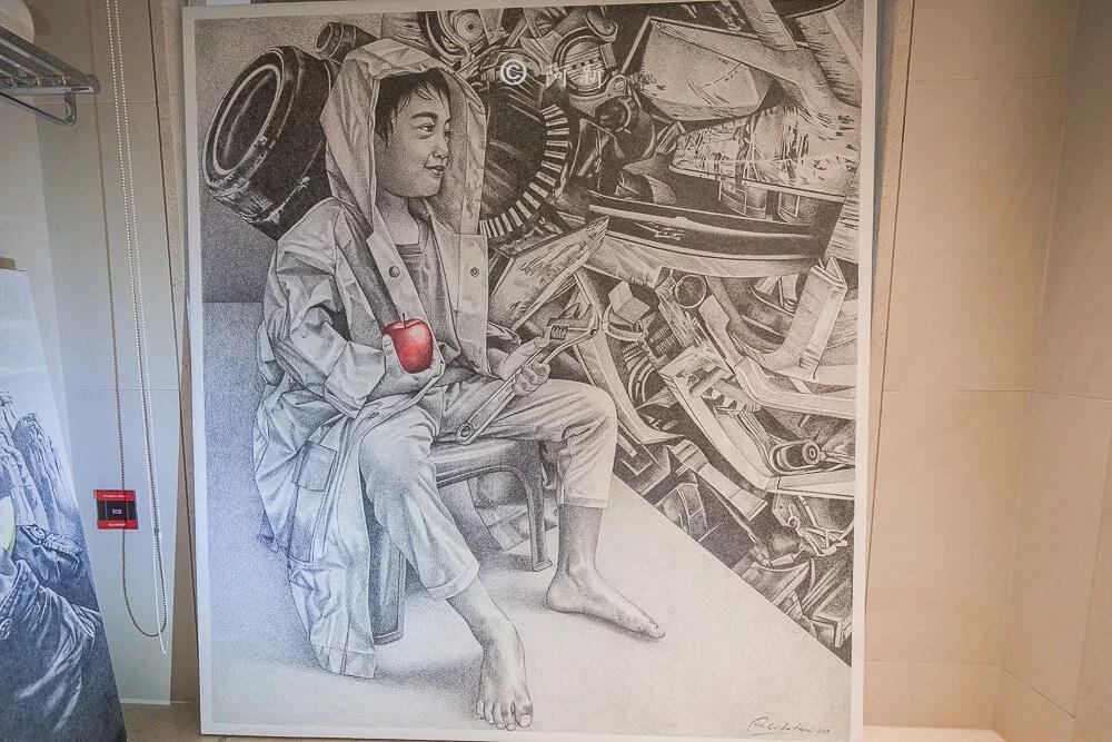 2018 臺中藝術博覽會  61間亞洲畫廊300位藝術家及11間首度參展畫廊。  阿新筆記