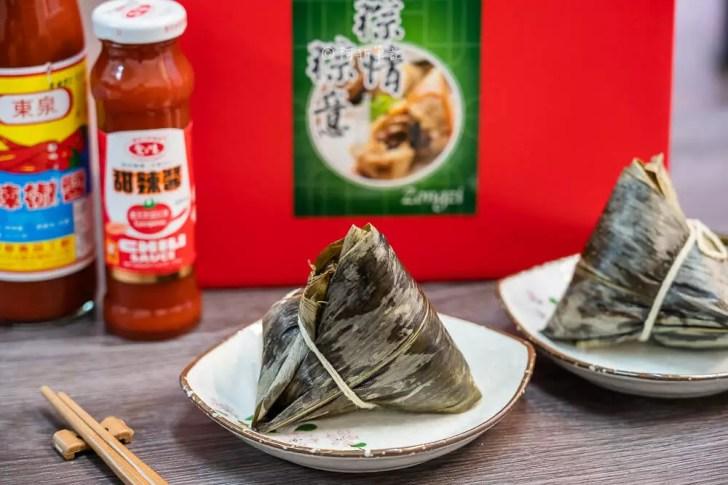DSC07997 - 熱血採訪│台中野生烏魚子肉粽,大排長龍只等這一味,每日限量賣完為止的鯊魚挑嘴