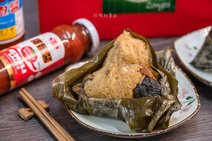 DSC08016 - 熱血採訪│台中野生烏魚子肉粽,大排長龍只等這一味,每日限量賣完為止的鯊魚挑嘴