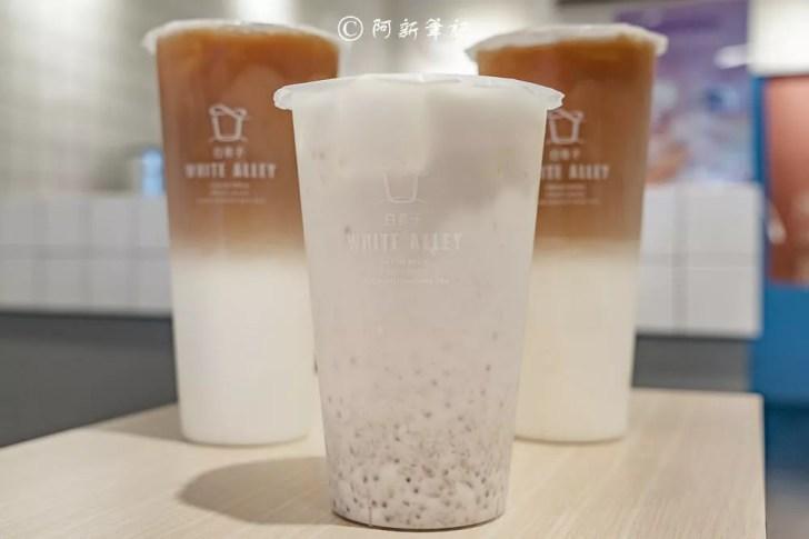 DSC02372 - 熱血採訪│芝士奶蓋必喝!從嘉義紅到國外的白巷子,台中也能喝得到,日本民眾大排長龍為了這一味