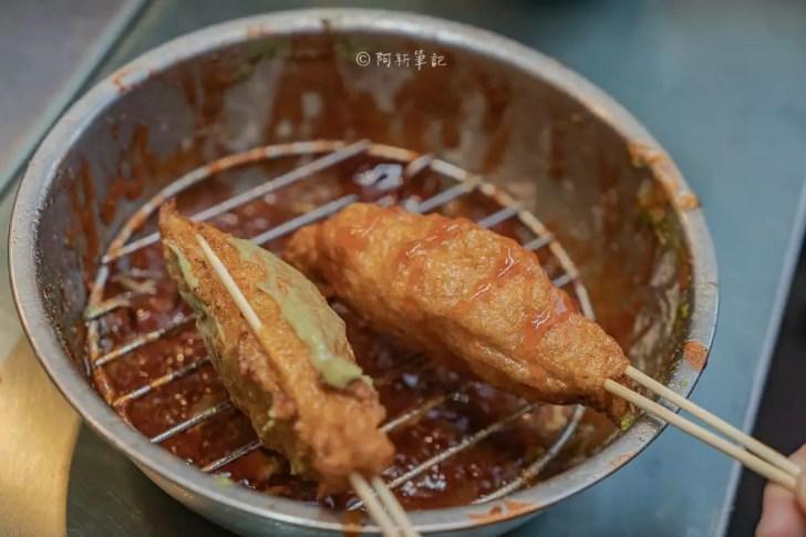 DSC05465 - 萬華丁香旗魚串|一中街銅板美食推薦,現點現做的鮮甜Q彈好滋味。